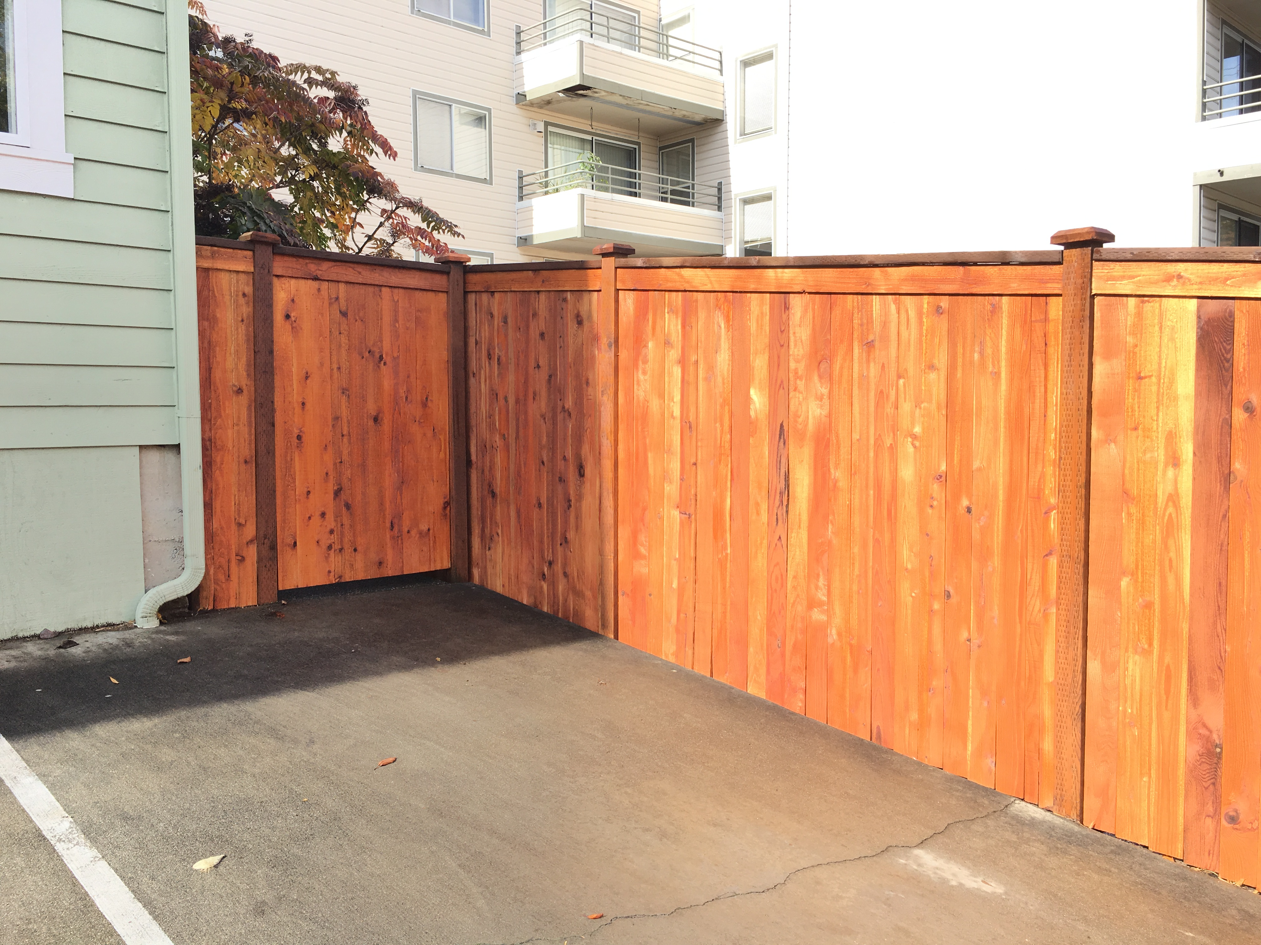 seattle fence building